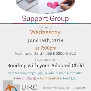 Adoption Support Group at Meet Me On 33rd, Salt Lake City