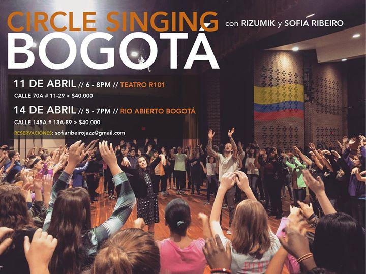 Circle Singing Bogot (Cedritos)