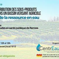 Midi-confrence Protection de leau en milieu agricole