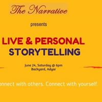 Open-mic themed storytelling event