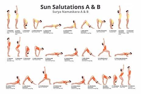surya namaskar ab sun salutation ab with yogi laxmi at