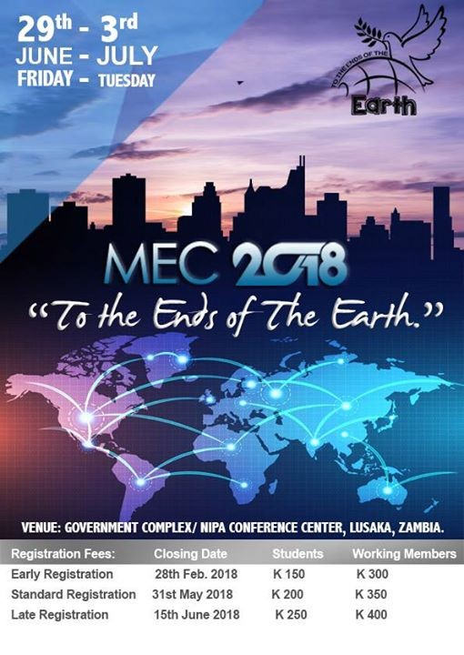 Mission Empowerment Conference 2018 at Nipa, Lusaka