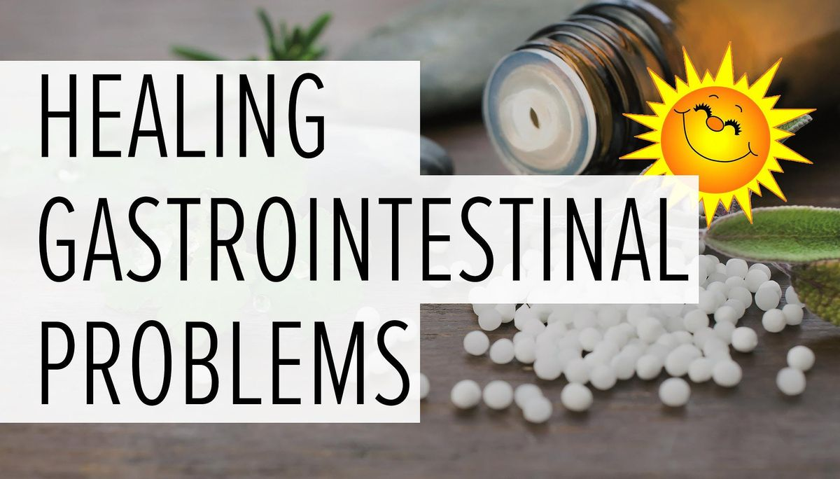 Natural Healing of Gastrointestinal Problems with Homeopathy