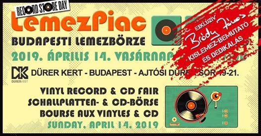 prilisi LemezPiac  Budapesti LemezbrzeBrdy Jnos dedikls
