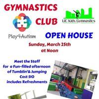 Gymnastics Club Open House