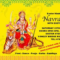 Exeter Hindu Temple Presents Navratri 2017