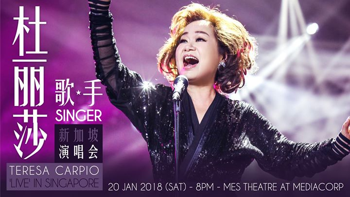 Teresa Carpio  Live in Singapore [Canceled]
