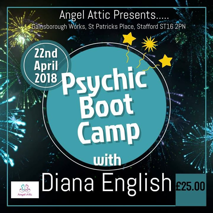 Psychic Bootcamp with Diana English
