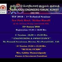 TEF 2018 - 1st Technical Seminar