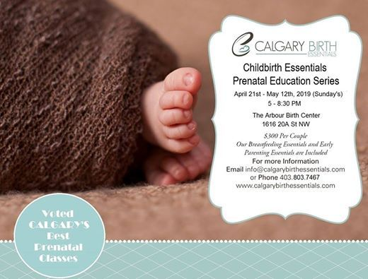 Childbirth Essentials Prenatal Classes