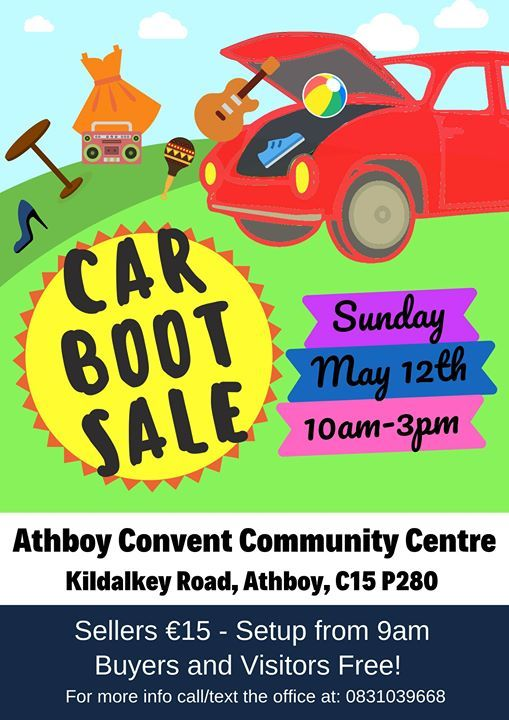 Car Boot Sale At Athboy Convent Community Centre Athboy