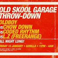 Old Skool Garage Throwdown