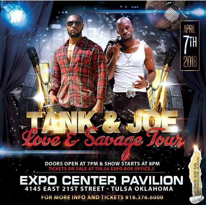 Love And Savage Tour Feat. Tank And Joe