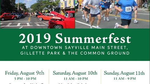 Sayville Summerfest 2019 The Official Page At Sayville