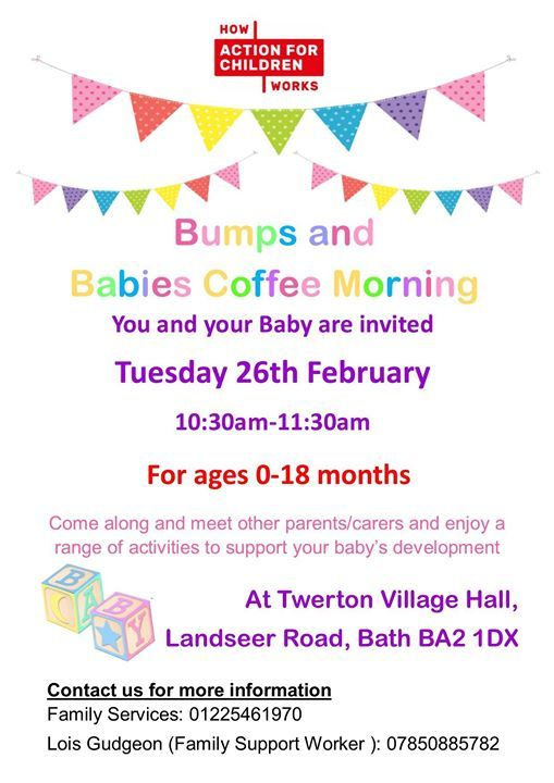 Bumps and Babies Coffee Morning