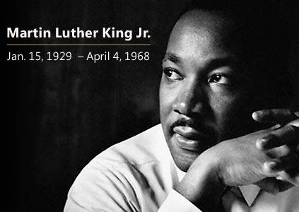 Martin Luther King Jr. Day - Offices Closed