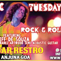 Acoustic Tuesdays-Rock &amp ROLL WITH cliff de souza