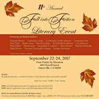 11th Annual Fall Into Fiction Literary Event