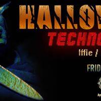 Halloween Techno Party Iffie  Batsaris  Selph