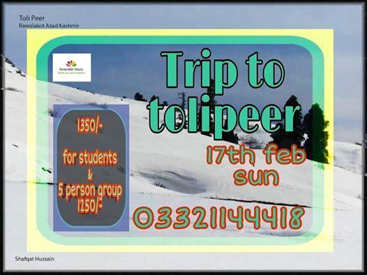Trip To Tolipeer