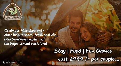 Valentines Special Camping