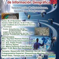 Congreso de Sistemas de Informacin Geogrfica Teledeteccin Multiplataforma