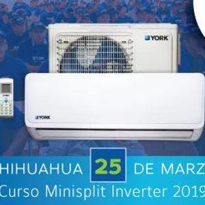 Curso Minisplit Inverter YORK - Chihuahua Chih.