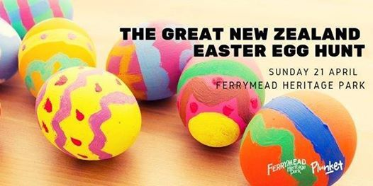 The Great New Zealand Easter Egg Hunt