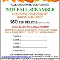 Oakwood Park Fall Scramble