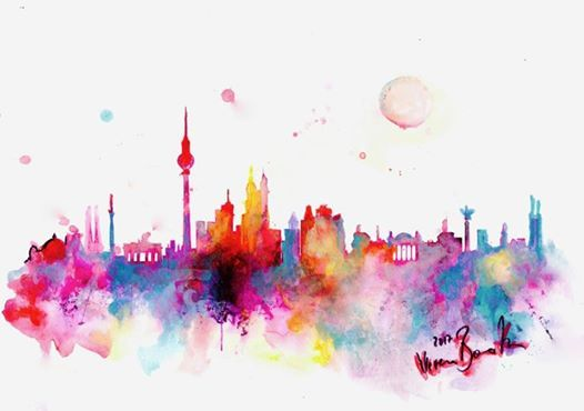 ArtNight Skyline Berlin am 23042019 in Berlin