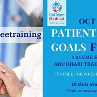 Confirmed Delegates only UMA Free Training PSG 18 OCT
