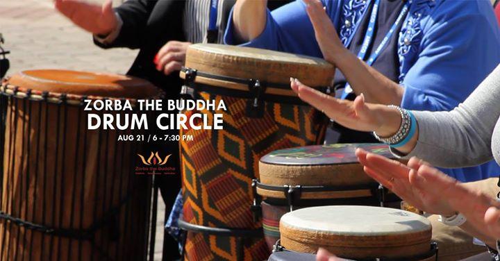 Zorba Drum Circle 16 Dec 2017