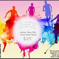1st Annual Estero 5k Color Run
