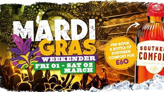 Mardi Gras Weekender Walkabout Blackpool