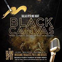 Black Canvas Vibe Out Thursday
