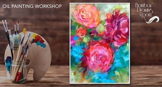 Oil Painting on Canvas - Painting Workshop Cafe Zoe