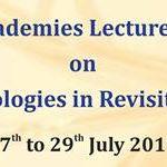 Science Academies Lecture Workshop