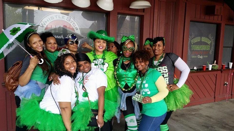 St. Patricks Day Party Bus to Savannah