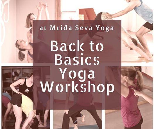 Back to Basics Yoga workshop