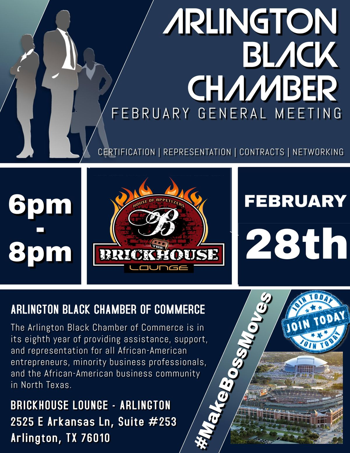 Arlington Black Chamber Febuary General Meeting