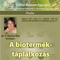 T. Veress va A biotermk-tpllkozs lettani szerepe
