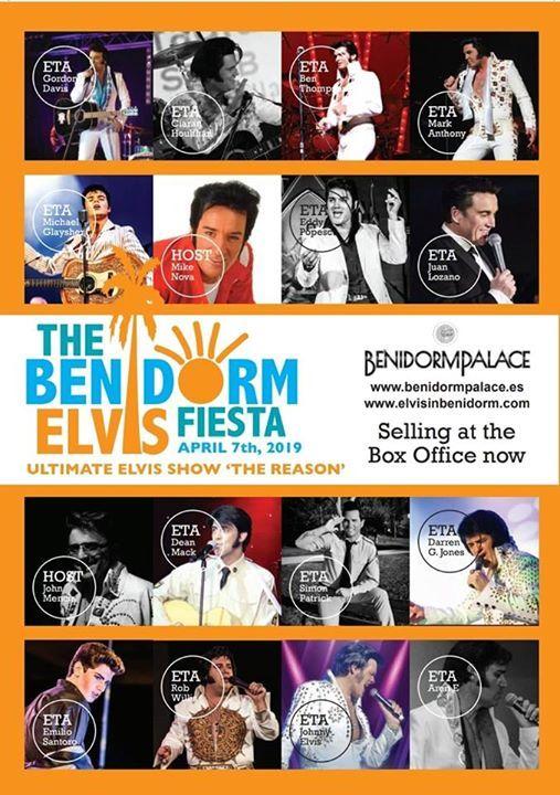 The Benidorm Elvis Fiesta 2019