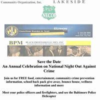 BPM &amp Harbel Community Assoc. National Night Out