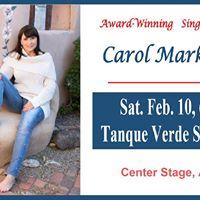 Carol Markstrom on Center Stage