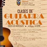 Clases de Guitarra Acstica Gratis