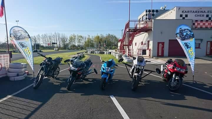 Motorradtraining Level 2 In Cheb At Kartarena Cheb Odrava