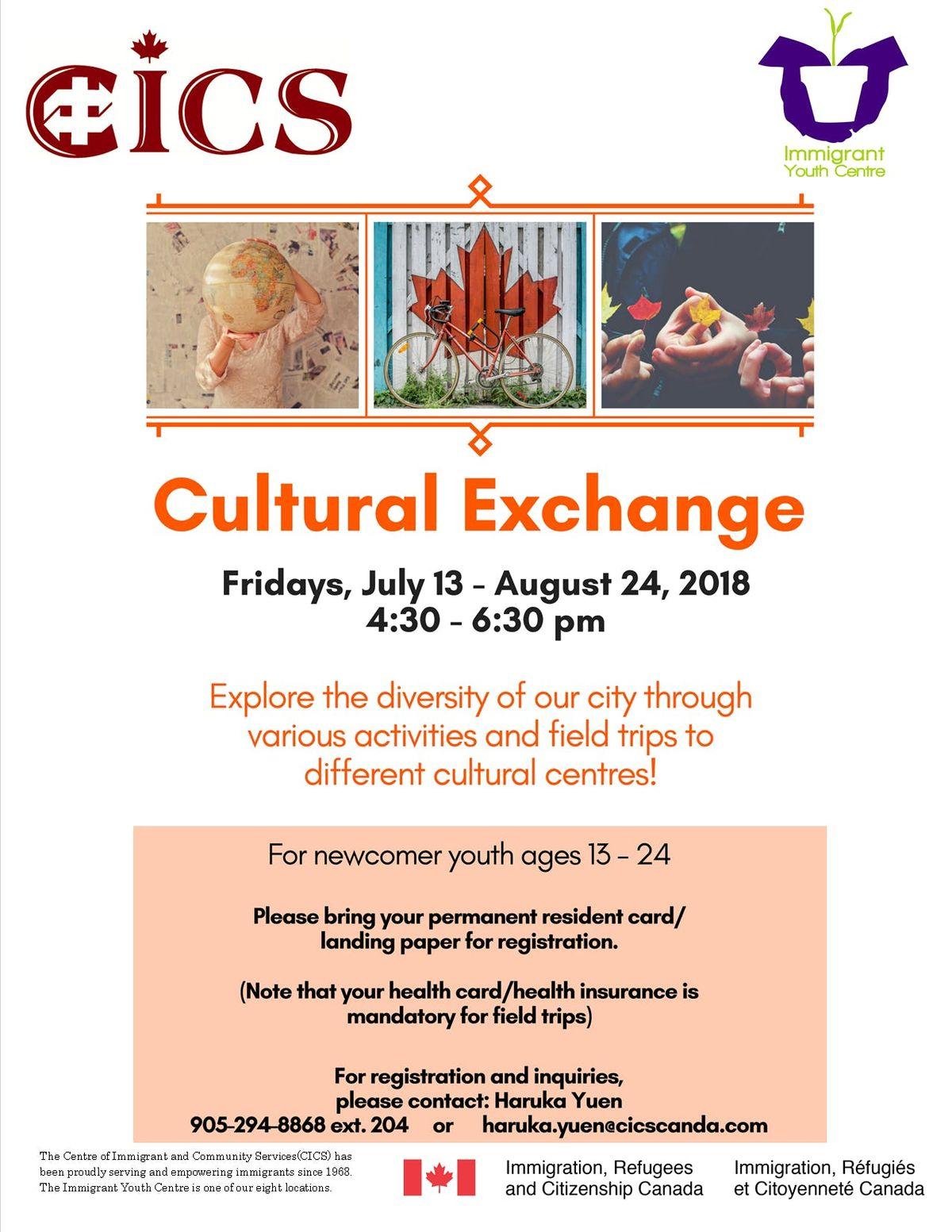 Cultural Exchange (Friday)