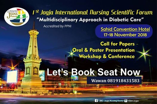 1St Jogja International Nursing Scientific ForumJOINS FORUM