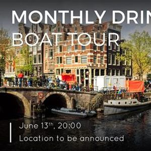 Boat Tour  Monthly Drink June