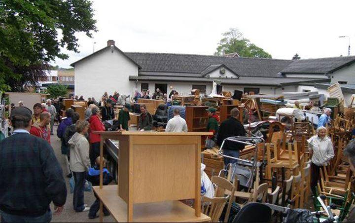 Spejdernes Loppemarked At Egtved Forsamlingshus Vejle Municipality